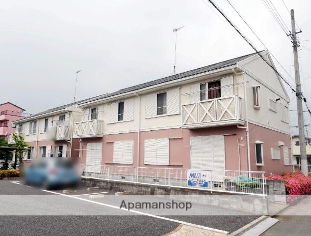 埼玉県飯能市、東飯能駅徒歩11分の築24年 2階建の賃貸アパート