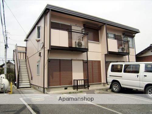 埼玉県狭山市、稲荷山公園駅徒歩15分の築29年 2階建の賃貸アパート