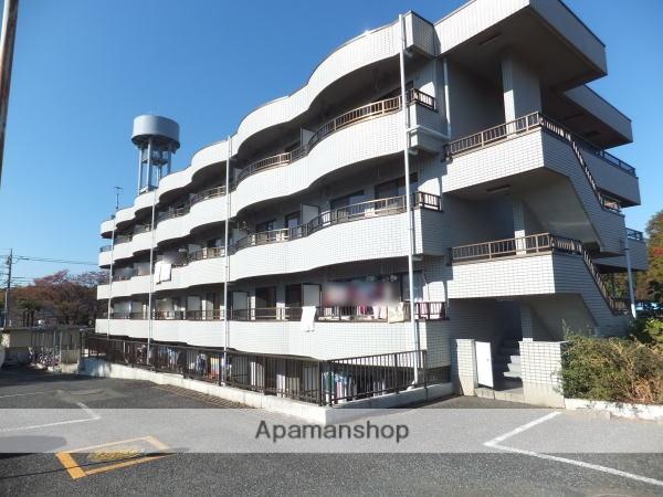 埼玉県狭山市、狭山市駅徒歩45分の築24年 4階建の賃貸マンション