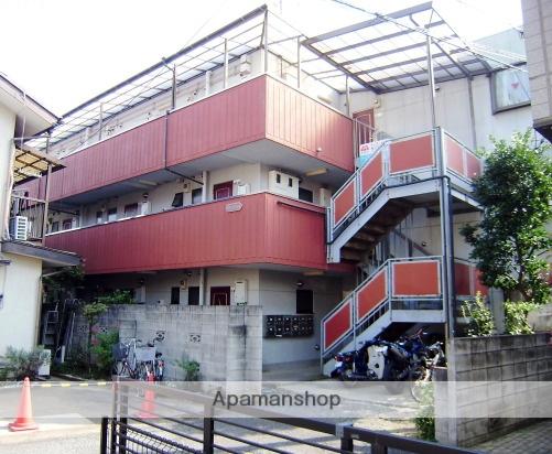 埼玉県狭山市、狭山市駅徒歩5分の築27年 3階建の賃貸アパート