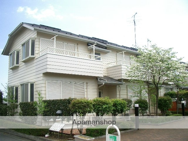 埼玉県入間市、武蔵藤沢駅徒歩15分の築23年 2階建の賃貸テラスハウス