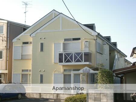 埼玉県入間市、入間市駅徒歩21分の築23年 2階建の賃貸アパート