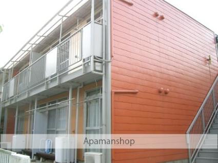 埼玉県入間市、武蔵藤沢駅徒歩10分の築41年 2階建の賃貸アパート
