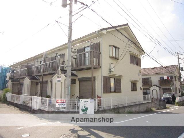 埼玉県入間市、武蔵藤沢駅徒歩23分の築24年 2階建の賃貸テラスハウス