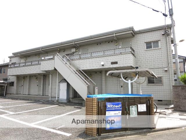 埼玉県入間市、入間市駅徒歩12分の築23年 2階建の賃貸アパート