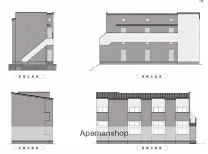 埼玉県川口市、東浦和駅徒歩48分の新築 2階建の賃貸アパート