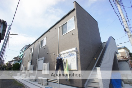 埼玉県川口市、蕨駅徒歩14分の新築 2階建の賃貸アパート