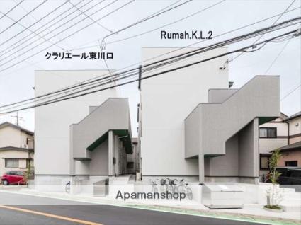 埼玉県川口市、東川口駅徒歩13分の新築 2階建の賃貸アパート