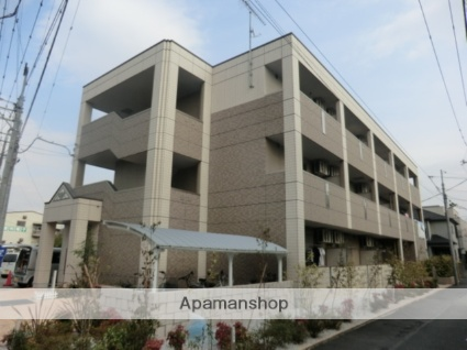 埼玉県さいたま市南区、西浦和駅徒歩18分の築4年 3階建の賃貸マンション