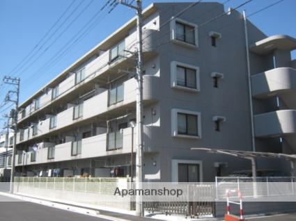 埼玉県戸田市、戸田公園駅徒歩32分の築23年 4階建の賃貸マンション