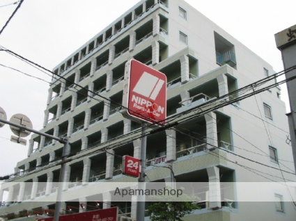 埼玉県蕨市、戸田駅徒歩28分の築27年 8階建の賃貸マンション