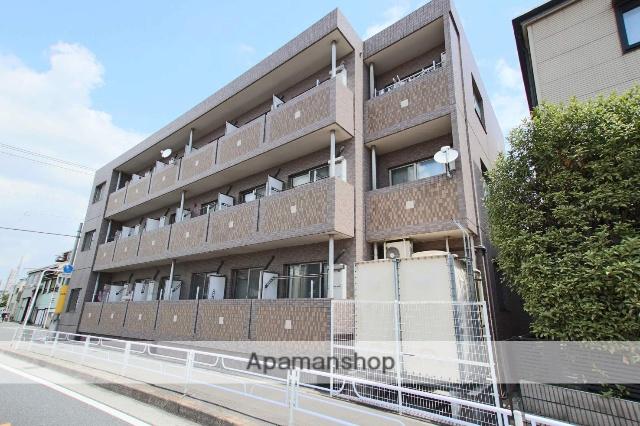 埼玉県川越市、川越駅徒歩11分の築13年 3階建の賃貸マンション