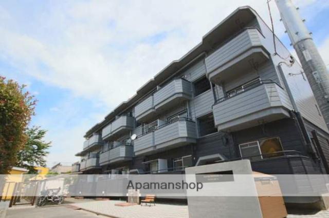 埼玉県川越市、川越駅徒歩18分の築40年 3階建の賃貸マンション