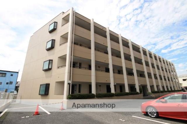 埼玉県川越市、川越駅徒歩7分の築22年 4階建の賃貸マンション