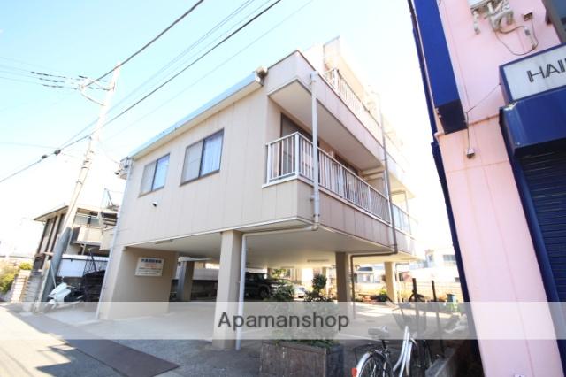 埼玉県川越市、南大塚駅徒歩2分の築30年 3階建の賃貸アパート