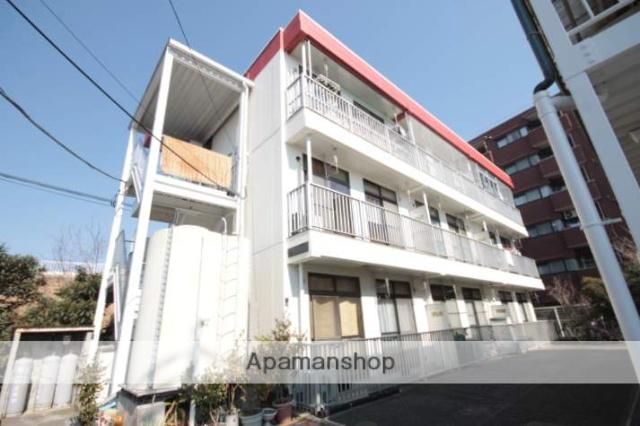 埼玉県川越市、西川越駅徒歩15分の築31年 3階建の賃貸マンション