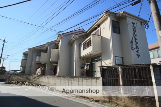 埼玉県川越市、川越駅徒歩17分の築28年 2階建の賃貸アパート