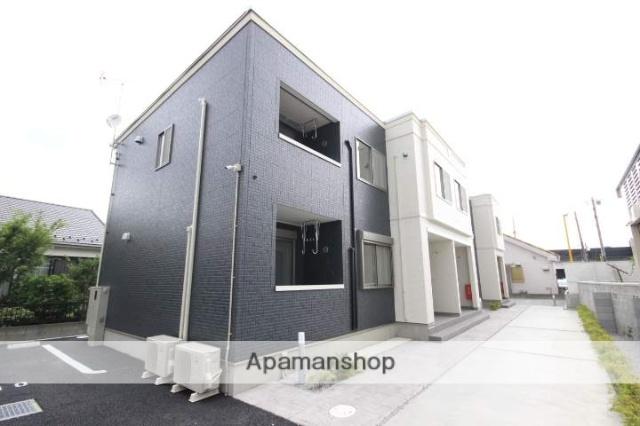 埼玉県川越市、西川越駅徒歩7分の新築 2階建の賃貸アパート