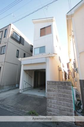 埼玉県川越市、南古谷駅徒歩18分の築45年 2階建の賃貸一戸建て
