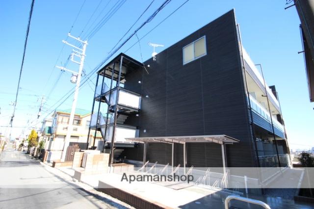 埼玉県川越市、川越駅徒歩19分の新築 3階建の賃貸マンション