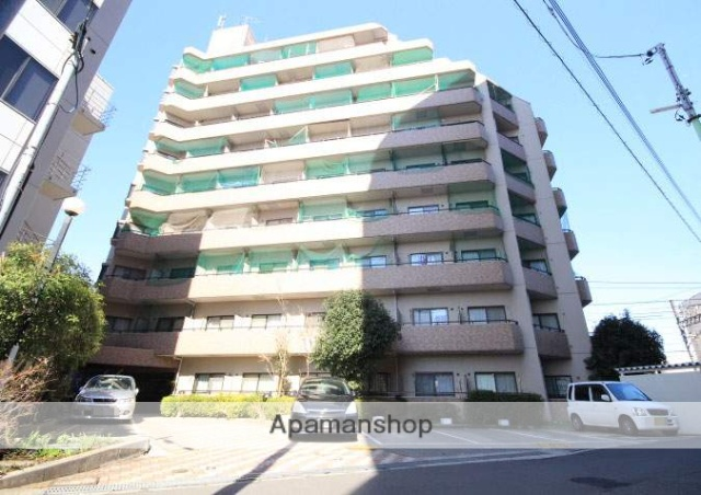 埼玉県川越市、川越駅徒歩4分の築24年 9階建の賃貸マンション