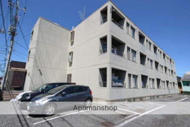 埼玉県川越市、川越駅徒歩18分の築24年 3階建の賃貸マンション
