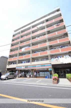 埼玉県川越市、川越駅徒歩6分の築32年 9階建の賃貸マンション
