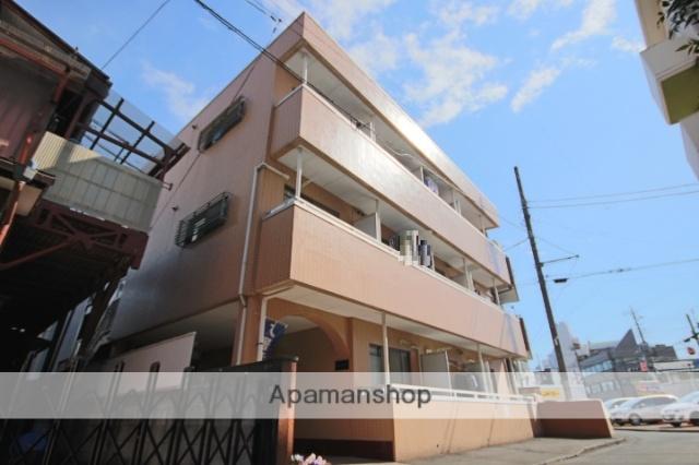埼玉県川越市、川越駅徒歩6分の築25年 3階建の賃貸マンション