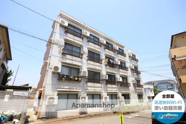 埼玉県川越市、川越駅徒歩25分の築28年 4階建の賃貸マンション