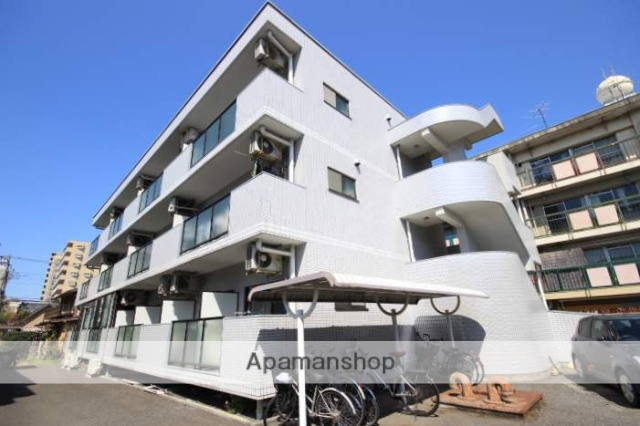 埼玉県川越市、川越駅徒歩14分の築25年 3階建の賃貸マンション