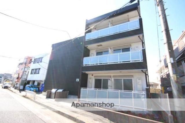 埼玉県川越市、川越駅徒歩24分の新築 3階建の賃貸アパート