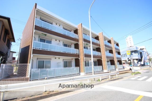 埼玉県川越市、川越駅徒歩11分の新築 3階建の賃貸アパート
