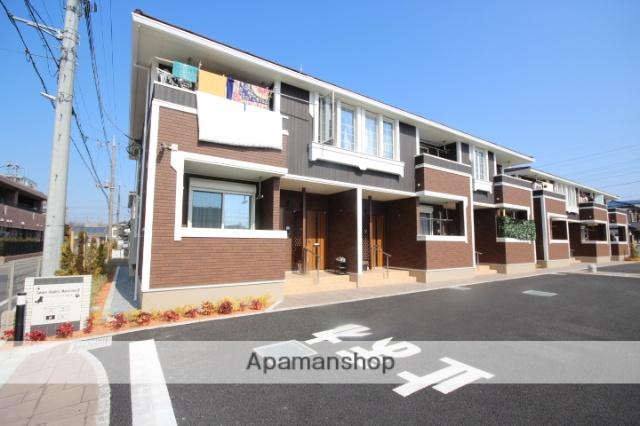 埼玉県坂戸市、坂戸駅徒歩20分の新築 2階建の賃貸アパート