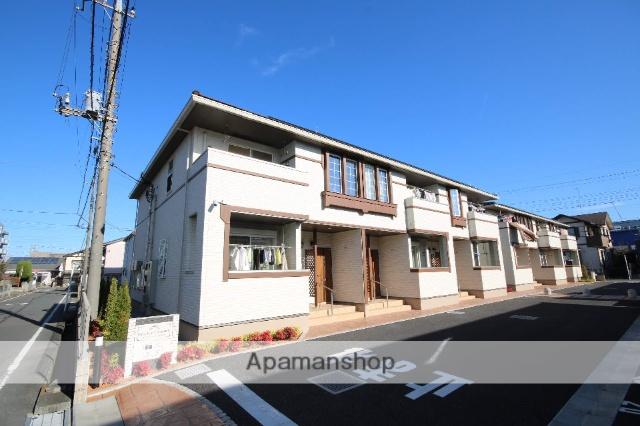 埼玉県坂戸市、北坂戸駅徒歩8分の新築 2階建の賃貸アパート