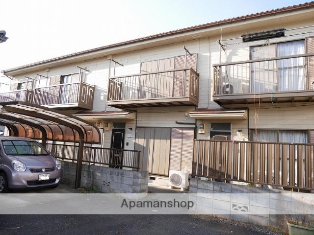 埼玉県蕨市、戸田駅徒歩16分の築25年 2階建の賃貸テラスハウス
