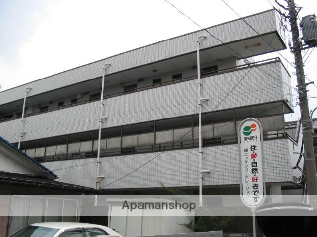 埼玉県戸田市、戸田駅徒歩12分の築26年 3階建の賃貸マンション