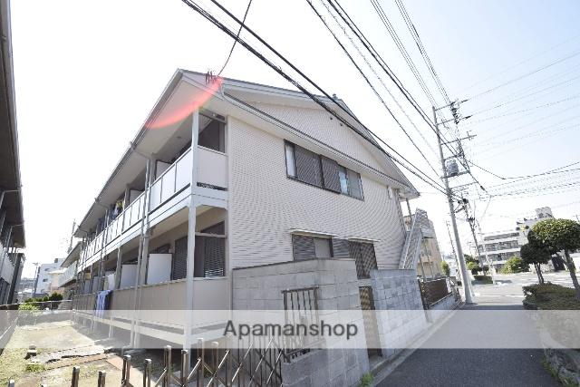 埼玉県蕨市、戸田駅徒歩17分の築24年 2階建の賃貸アパート