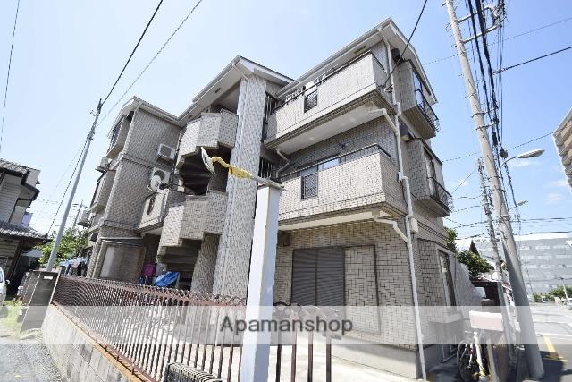 埼玉県戸田市、浮間舟渡駅徒歩23分の築25年 3階建の賃貸アパート