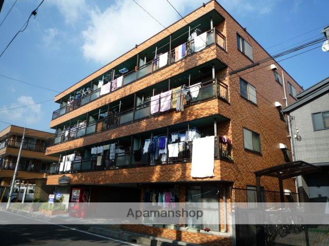 埼玉県戸田市、戸田公園駅徒歩22分の築24年 4階建の賃貸マンション