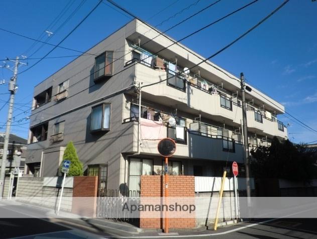 埼玉県戸田市、戸田公園駅徒歩23分の築26年 3階建の賃貸マンション