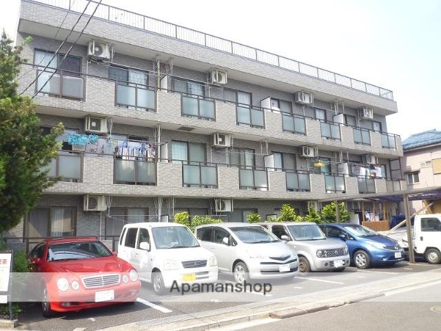 埼玉県戸田市、戸田公園駅徒歩14分の築22年 3階建の賃貸マンション