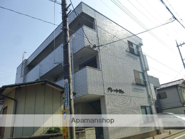 埼玉県戸田市、戸田公園駅徒歩8分の築27年 3階建の賃貸マンション