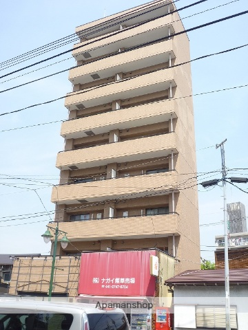 埼玉県戸田市、戸田公園駅徒歩9分の築21年 9階建の賃貸マンション