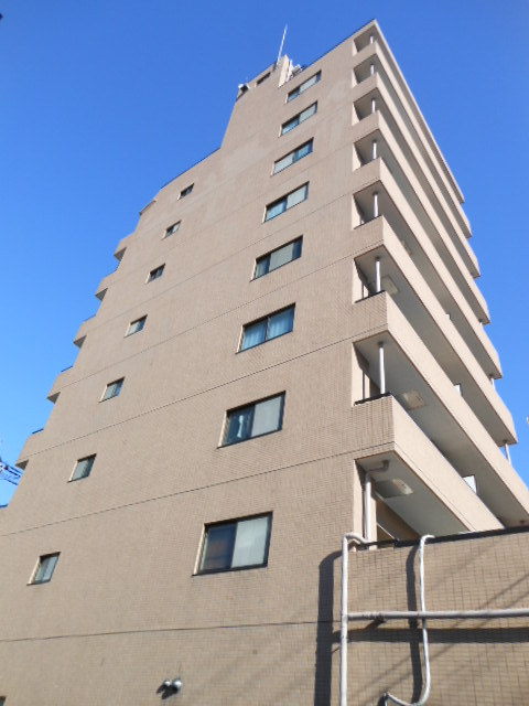 埼玉県戸田市、戸田公園駅徒歩9分の築22年 9階建の賃貸マンション