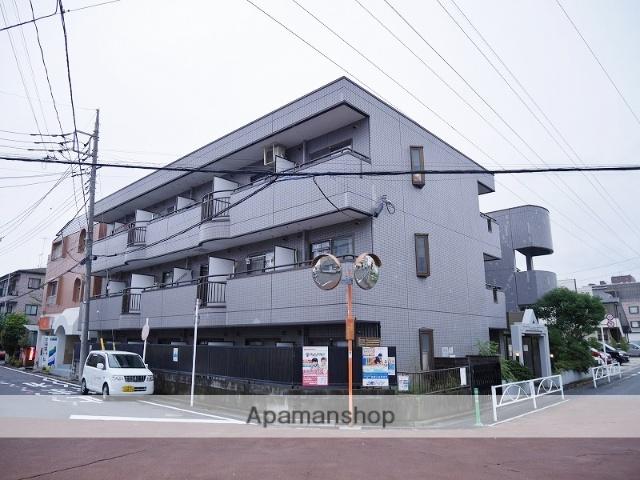 埼玉県戸田市、戸田公園駅徒歩16分の築27年 3階建の賃貸マンション
