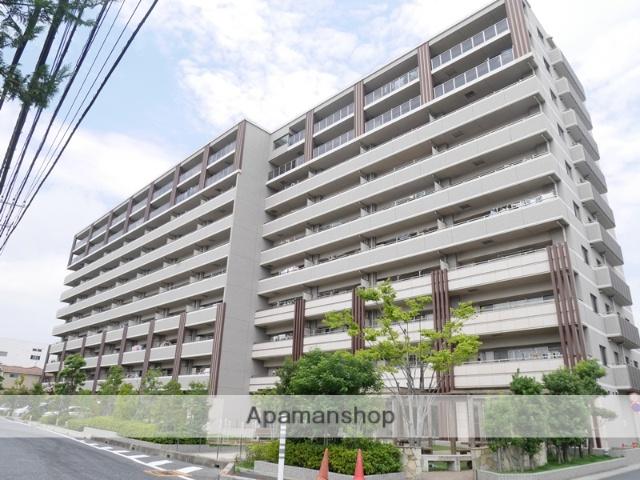 埼玉県戸田市、武蔵浦和駅徒歩24分の築4年 9階建の賃貸マンション
