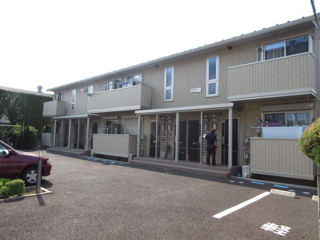 埼玉県さいたま市南区、西浦和駅徒歩27分の築5年 2階建の賃貸アパート