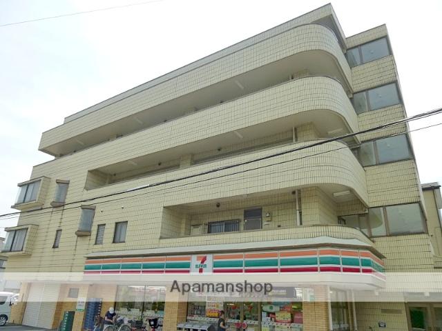 埼玉県戸田市、戸田公園駅徒歩12分の築27年 5階建の賃貸マンション