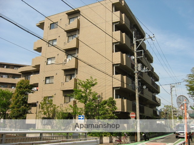 埼玉県戸田市、戸田公園駅徒歩10分の築27年 6階建の賃貸マンション