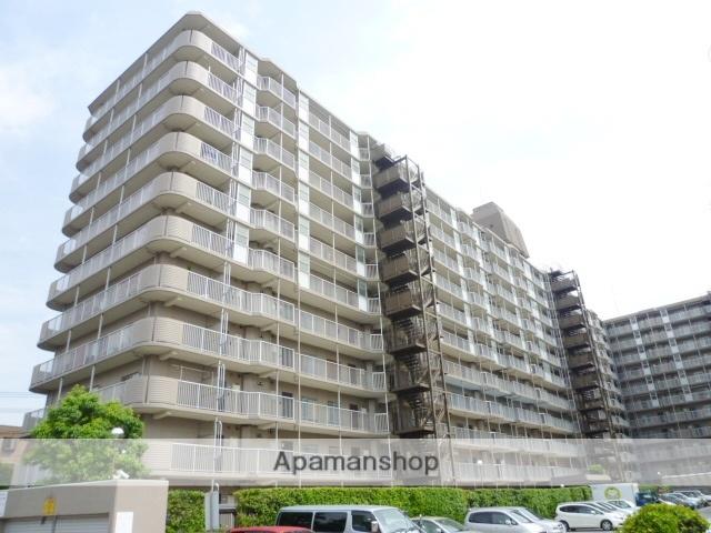 埼玉県戸田市、戸田公園駅徒歩18分の築34年 11階建の賃貸マンション